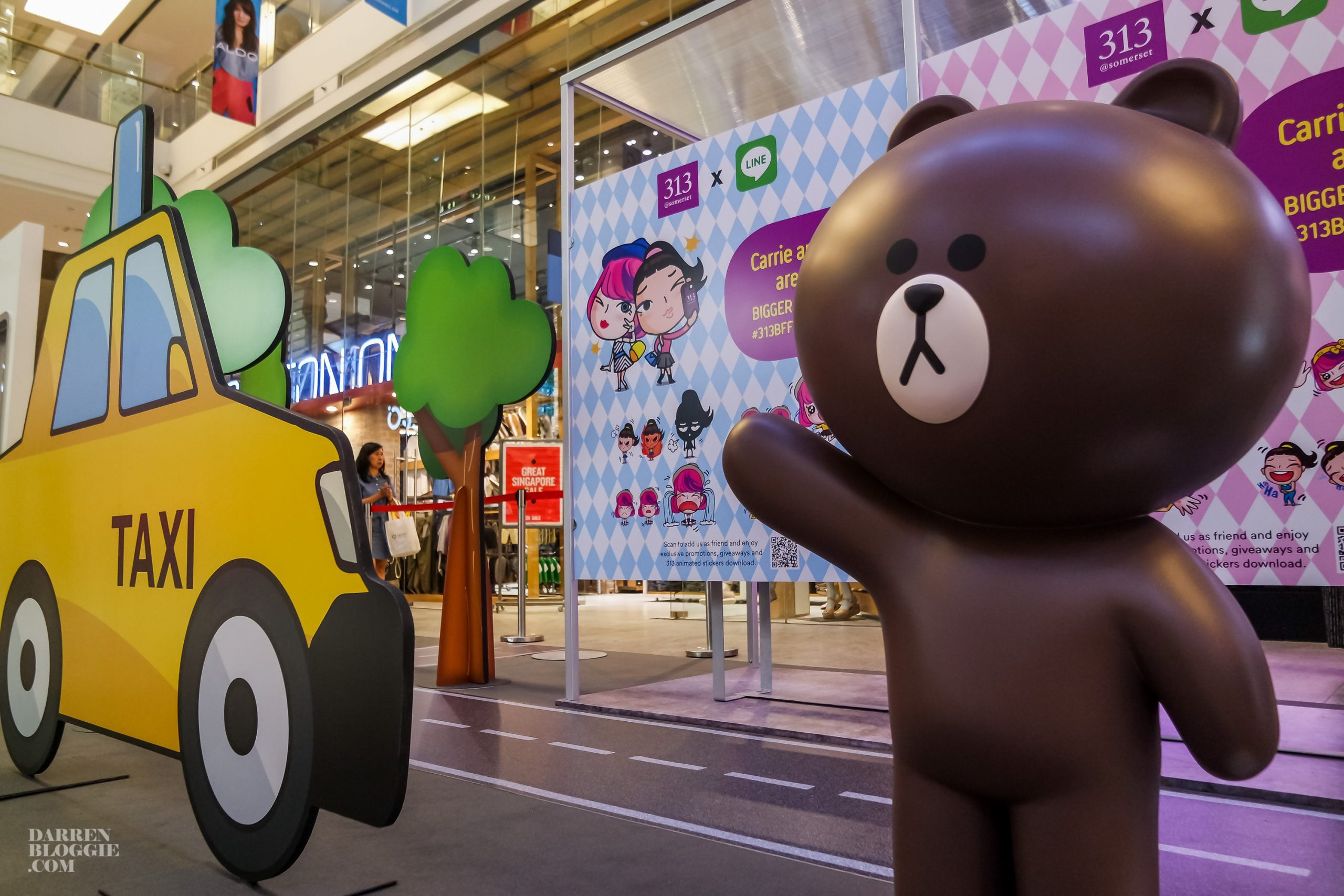 Joyride with LINE Friends at 313@Somerset