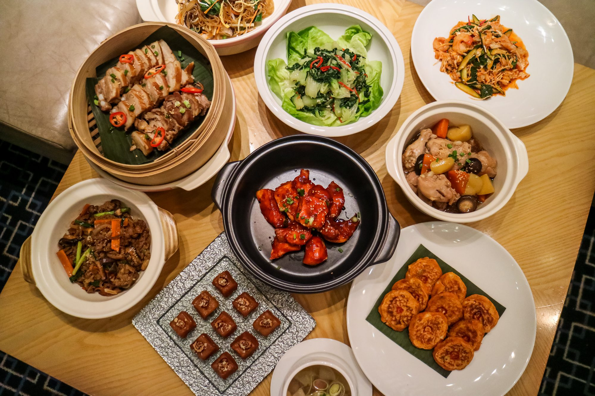 Exciting Tastes of Korea at Marriott Cafe Singapore