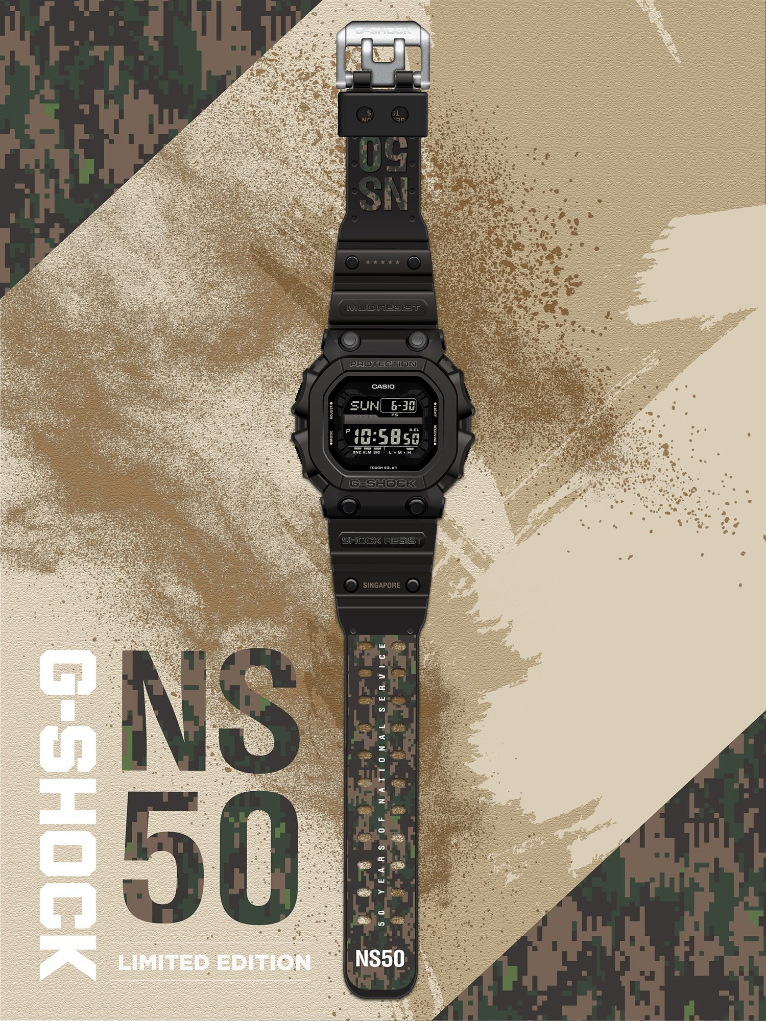 Casio G-SHOCK Releases Limited Edition NS50 Watch