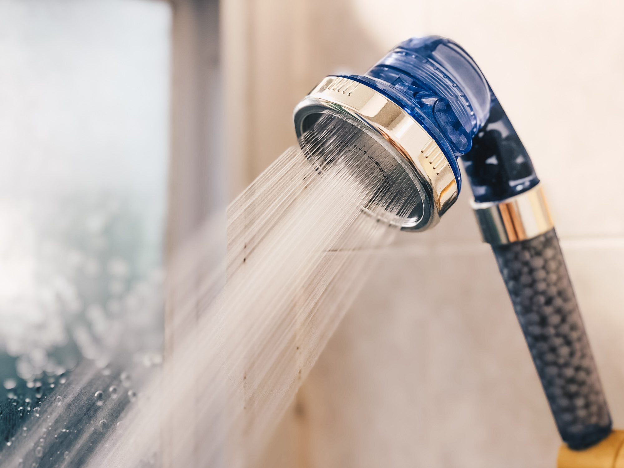 Save Water with Water Filter Shower Head from Filtech