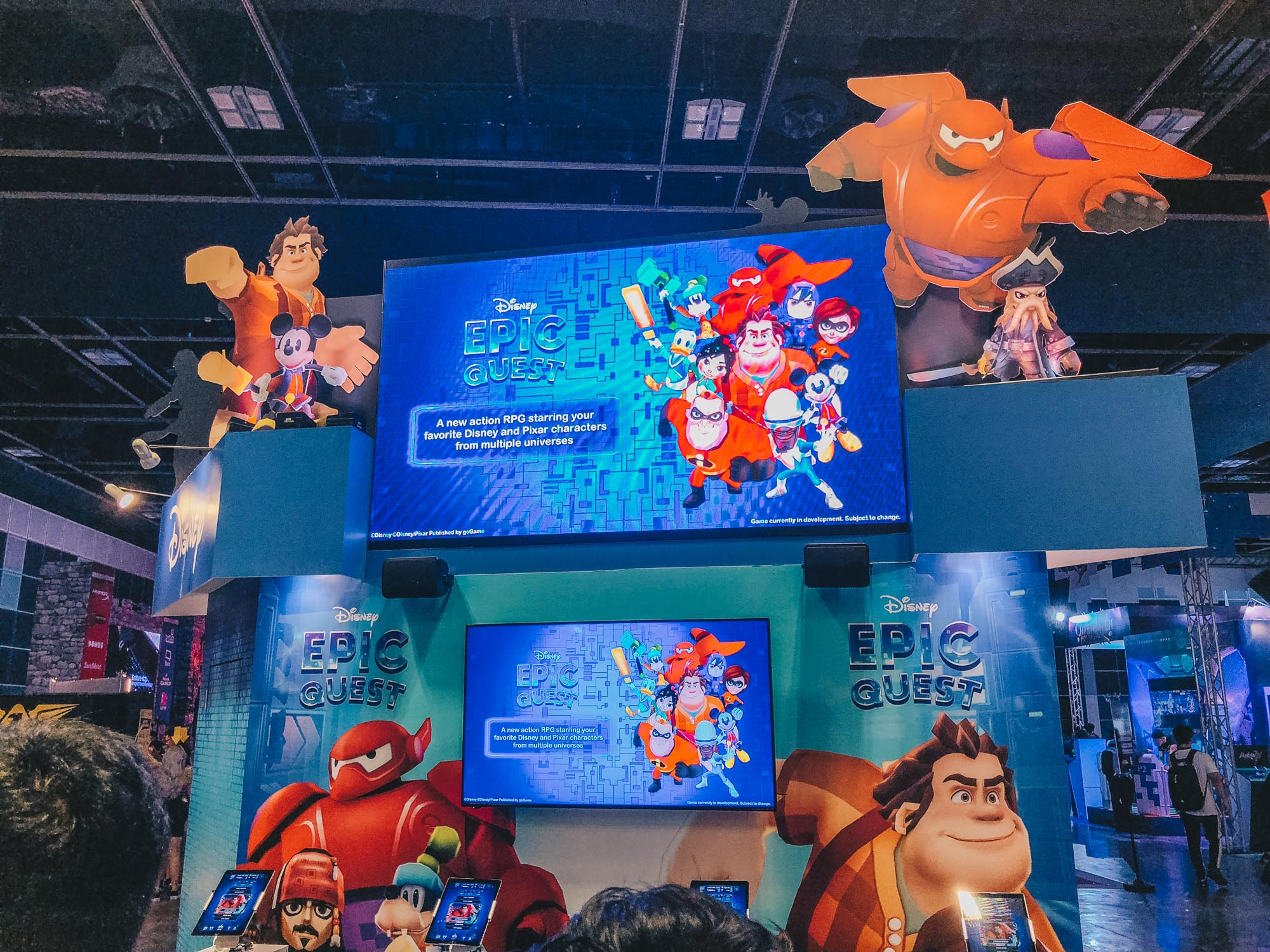 Disney Epic Quest - Disney's first Mobile Game developed in Singapore to launch in 2019
