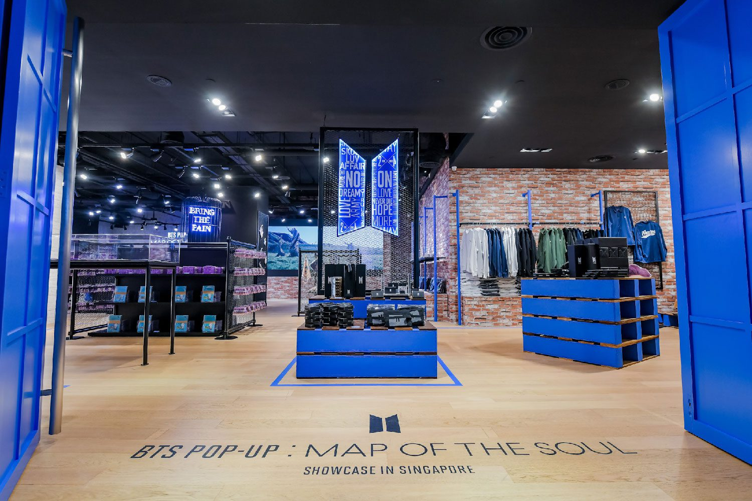 BTS POP-UP : MAP OF THE SOUL Showcase in SINGAPORE - Extended till 25 April!