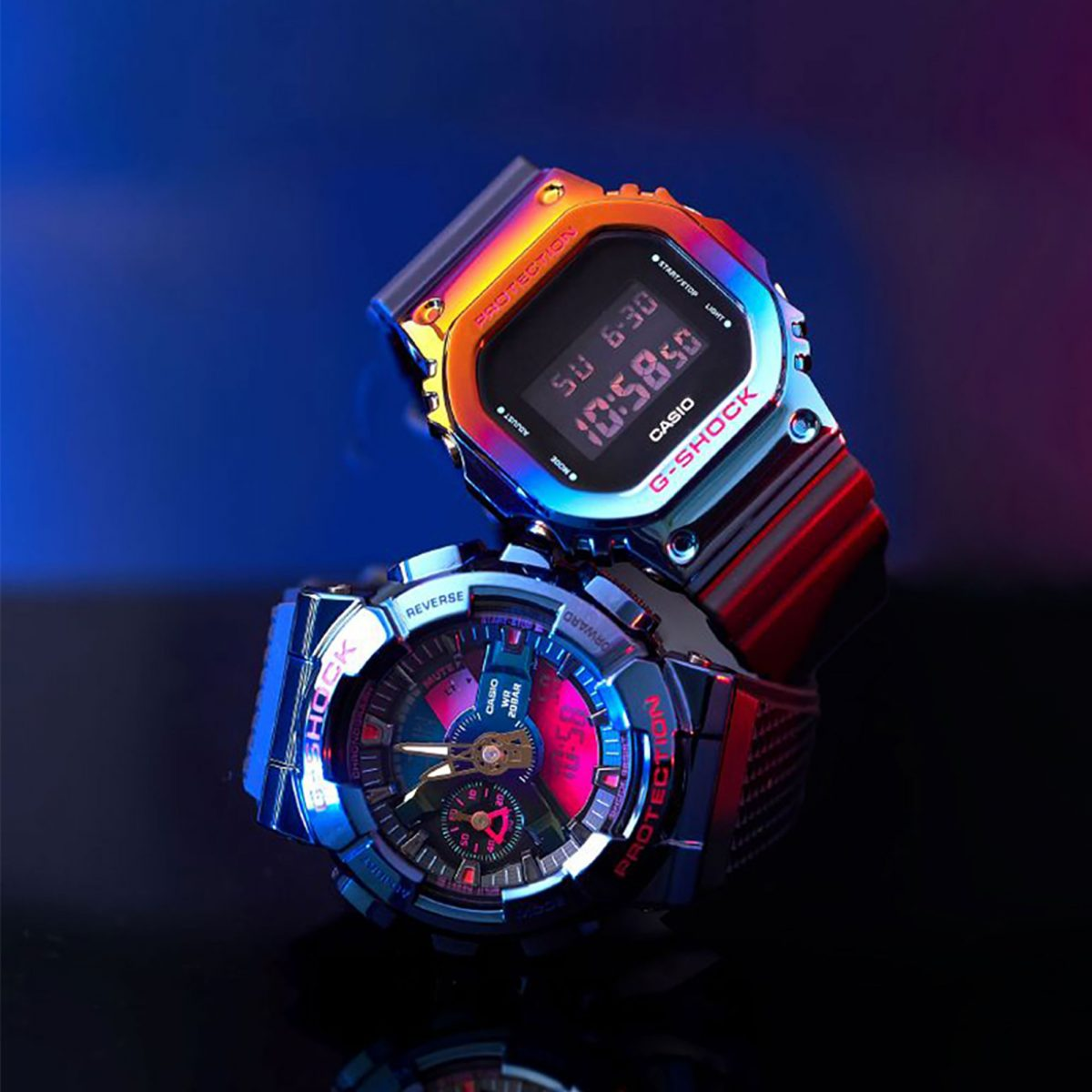 Casio unveils the New Night Light Series with 2 Metal G-SHOCK Base Models